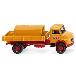 ** Wiking 043802 MB LAK Bolling Flatbed Tipper with Tank