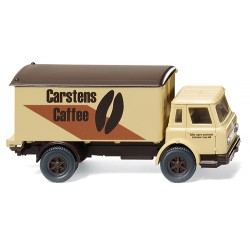 ** Wiking 044602 LKW Box Truck Carstens Caffee
