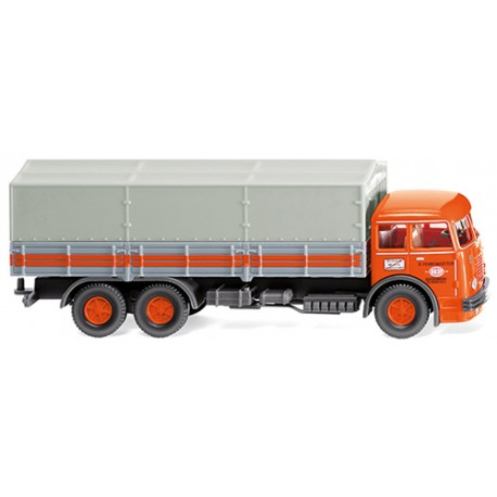 ** Wiking 047903 Bussing 12000 Flatbed Lorry Fehrenkotter