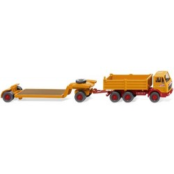 ** Wiking 049201 MB NG Boiling Low Loader Trailer