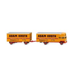 ** Wiking 050048 MB Furniture Box Truck Adam Kroth