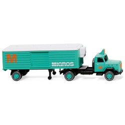 ** Wiking 052003 Magirus Migros Refrigerated Semitrailer