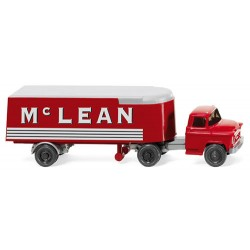** Wiking 052101 Chevrolet Semi-Trailer Truck McLean