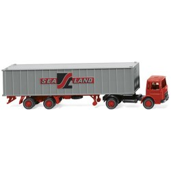 ** Wiking 052304 MAN Sealand Container Semitrailer