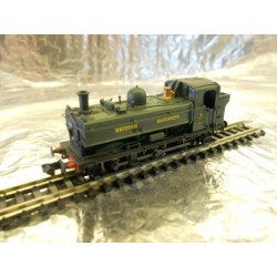 ** Dapol 2S-007-016 Pannier 8767 BR Green British Railways Later Cab