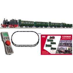 ** Fleischmann 631182 DB BR70 Local Passenger Digital Starter Set III