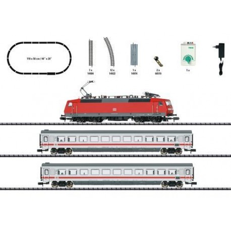** Minitrix 11150 DBAG BR120 Passenger Starter Set VI - N Scale