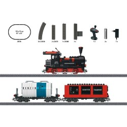 ** Marklin 29730 Building Block Steam Train Freight Starter Set (MFX-Sound) - HO Scale