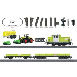 ** Marklin 29652 Claas DHG 700 Diesel Freight Starter Set (MFX-Fitted) - HO Scale