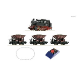 ** Roco 51159 DB BR80 Steam Freight Starter Set III - HO Scale