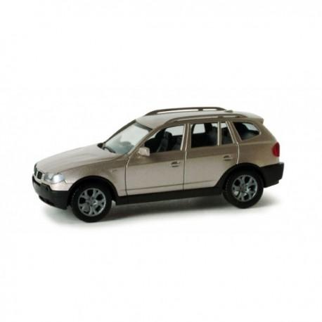 ** Herpa 033220  BMW X3, Metallic Grey