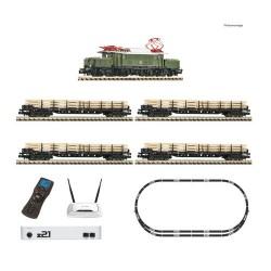** Fleischmann 931886 DB BR194 Freight Starter Set IV (DCC-Sound) - N Scale