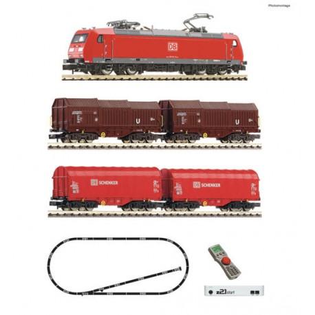 ** Fleischmann 931885 DBAG BR185.1 Freight Starter Set VI (DCC-Fitted)