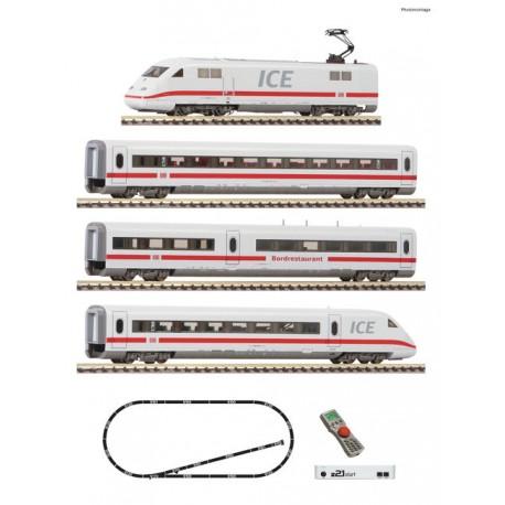 ** Fleischmann 931884 DBAG ICE2 Passenger Starter Set VI (DCC-Fitted) - N Gauge