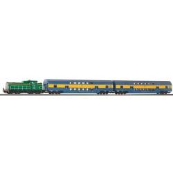 ** Piko 97924 Hobby PKP Diesel Passenger Starter Set - HO Scale