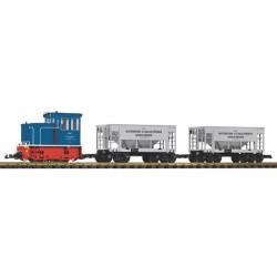 ** Piko 37151 GE 25t Diesel Industrial Starter Set - G Scale