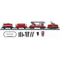 ** Marklin 29753 Start Up Fire Department Starter Set - HO Scale