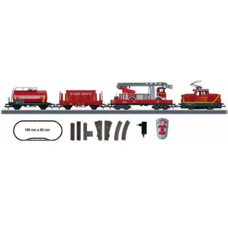 ** Marklin 29753 Start Up Fire Department Starter Set - HO Scale