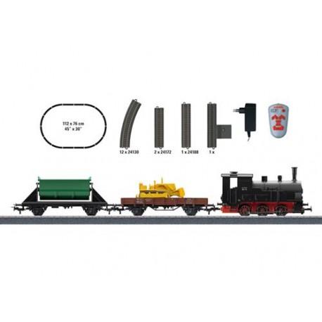** Marklin 29173 Start Up Steam Freight IR Starter Set III (FX-Fitted) - HO Scale