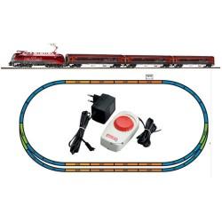 ** Piko 57172 Hobby OBB Railjet Rh1216 Passenger Starter Set - HO SCale