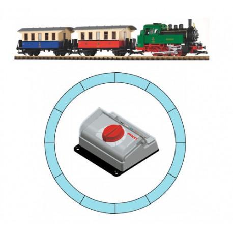 ** Piko 37130 DB BR80 Passenger Starter Set - G Scale
