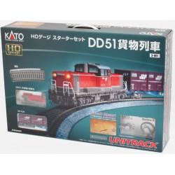 ** Kato 3-001 JR DD51 Diesel Freight Starter Set - HO SCale