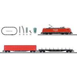 ** Minitrix 11145 DBAG BR185.2 Electric Digital Starter Set VI (DCC-Fitted) - N Scale