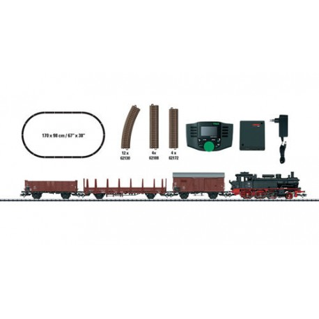 ** Trix 21528 DB BR74 Freight Starter Set III (DCC-Fitted) - HO Scale