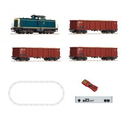 ** Roco 51299 Start DB BR211 Digital Starter Set IV (DCC-Fitted) - HO Scale