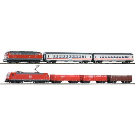 ** Piko 59011 SmartControl Light DBAG Starter Set VI (DCC-Fitted) - HO Scale