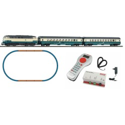 ** Piko 59007 Smart Control Light DB BR218 Starter Set IV (DCC-Fitted) - HO Scale