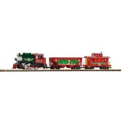 ** Piko 37105 Christmas Freight Starter Set - G Scale