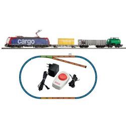 ** Piko 57187 Hobby SBB BR185 Freight Starter Set - HO Sacle