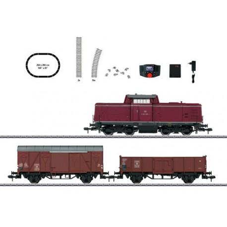 ** Marklin 55046 DB V100 Diesel Freight Digital Starter Set III (MFX-Sound) - Gauge 1