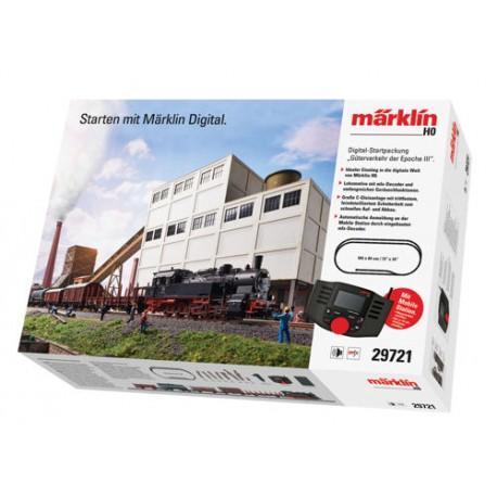 ** Marklin 29721 DB BR94 Steam Freight Starter Set III (MFX-Sound) - HO Scale