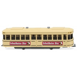 ** Wiking 074901 Tram Carriage Schultheiss Bier