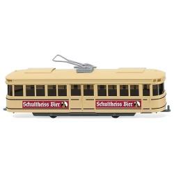 ** Wiking 075001 Tramcar Schultheiss Bier