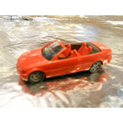 ** Herpa 022934 BMW 3er Convertible Red
