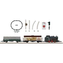 ** Marklin 81701 DB BR89 Steam Freight Starter Set IV - Z Gauge