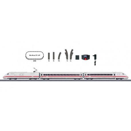 ** Marklin 29792 DBAG BR402 ICE Passenger Starter Set V (MFX-Sound) - HO Scale