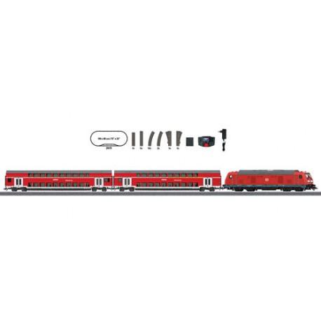 ** Marklin 29479 DBAG BR245 RegioExpress Starter Set VI (MFX-Sound) - HO scale