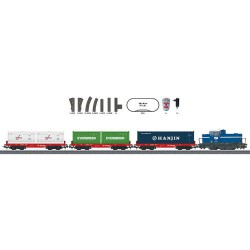 ** Marklin 29452 Start Up DHG 700 Diesel Freight Starter Set VI (MFX-Sound) - HO Scale