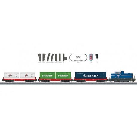 ** Marklin 29452 Start Up DHG 700 Diesel Freight Starter Set VI (MFX-Sound) - HO Scale