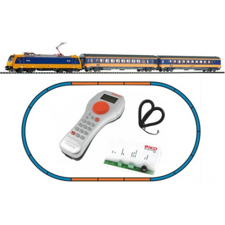 ** Piko 59005 Smart Control Light NS BR185 Starter Set VI (DCC-Fitted) - HO Scale