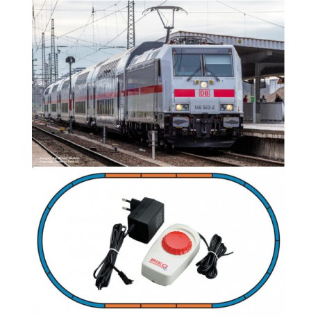 ** Piko 57133 Hobby DBAG BR146.5 Passenger Starter Set - HO Scale