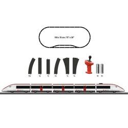 ** Marklin 29335 MyWorld Swiss Express Train Starter Set - HO Scale