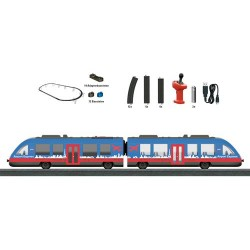 ** Marklin 29307 MyWorld Airport Express Elevated Railway Starter Set - HO Scale