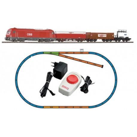 ** Piko 96948 Hobby OBB Diesel Freight Starter Set - HO Scale