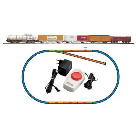 ** Piko 59110 Hobby SBB G1700 Freight Starter Set - HO Scale