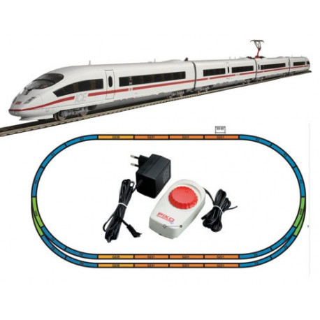 ** Piko 57194 Hobby DB ICE3 Passenger Starter Set - HO Scale